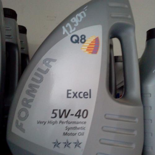 Formula Q8 Excel 5W-40 4L Szintetikus motorolaj 9900Ft