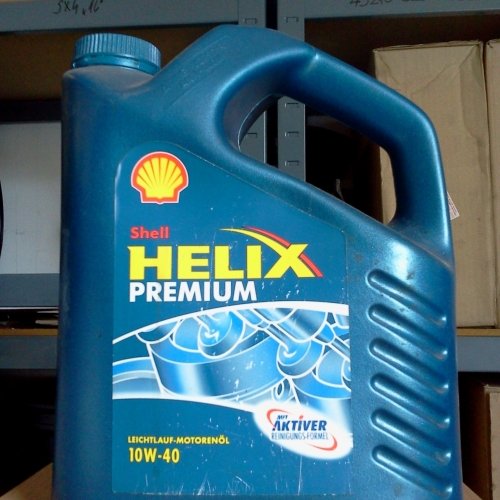 Shell Helix Premium 10W-40 5L Motorolaj 7900Ft