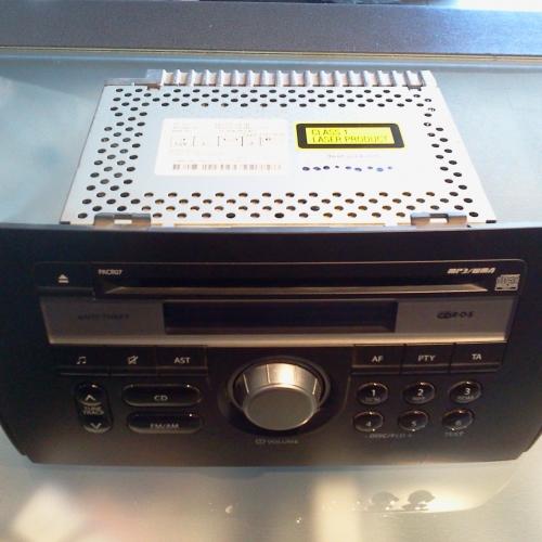 Suzuki SX4 - CD MP3 rádió PACER06 07  20000Ft