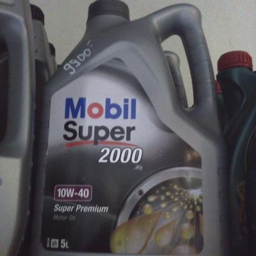 Mobil Super 2000 10W-40 5L Motorolaj 9900Ft
