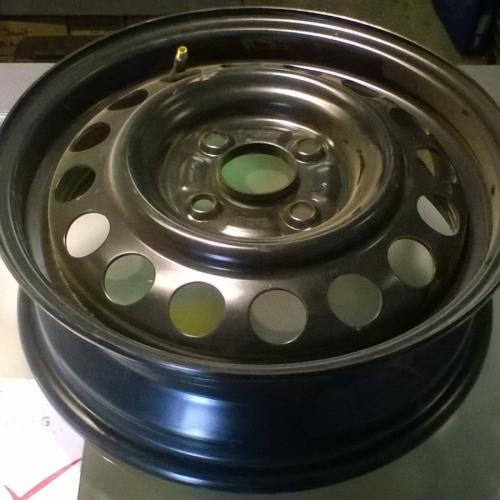 Suzuki Ignis - Acélfelni 14 col Gyári! 43210-86G00-09L 41/2Jx14CH ET45 12900Ft