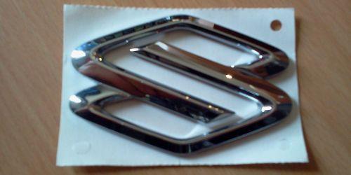 Suzuki S embléma, dísz felirat, logó 77811-54G30-0PG  Gyári. Ft/db 2900Ft
