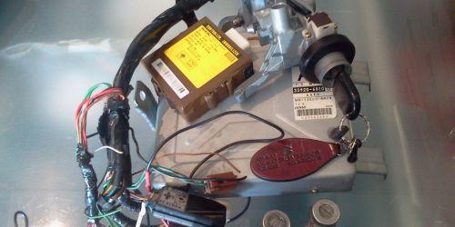 1996-2003 Suzuki Swift 1.0 Központi zár, 1 kulcsos Gyújtáskapcsoló IMO-s Kormányzár + 2 ajtózár (jobb és bal ajtózár) 25000Ft